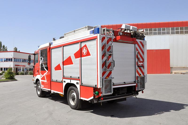 آتشنشانی زیگلر ۱