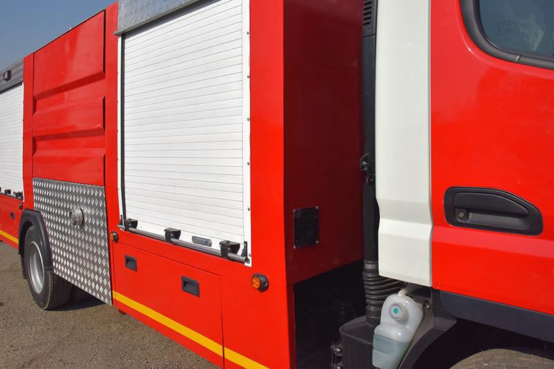 کامیونت آتشنشانی فوسو ۳