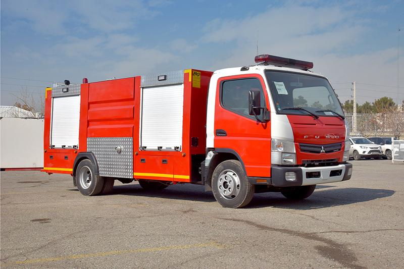 کامیونت آتشنشانی فوسو ۴