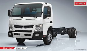 کامیون سبک فوسو 6 تن کوتاه